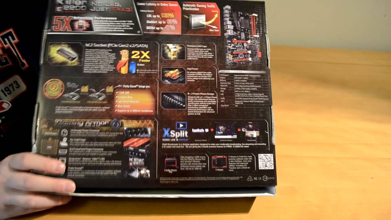 ASRock Fatal1ty 990FX Killer Motherboard Unboxing and Overview