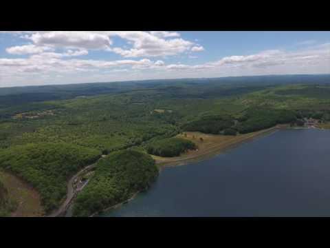 Quabbin Reservoir From Above