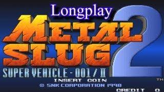 Longplay Metal Slug 2 (Arcade) - Modo um Jogador (Jogo completo)