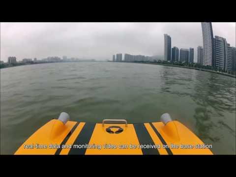 Oceanalpha video(USV for Water Environment)