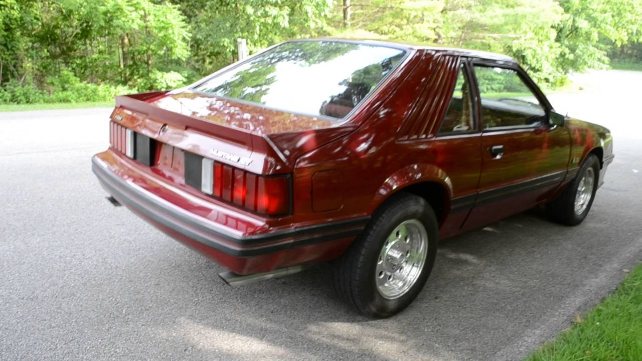 1982 Mustang Gt >> 1982 Mustang Gt 5 0 Super Nice 2 Owner Car Everything Documented Since New