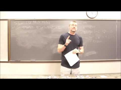 General Relativity Topic 24: Schwarzchild Black Holes