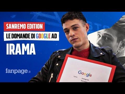 Irama, Nera, Amici, Sanremo: il cantante risponde alle domande di Google