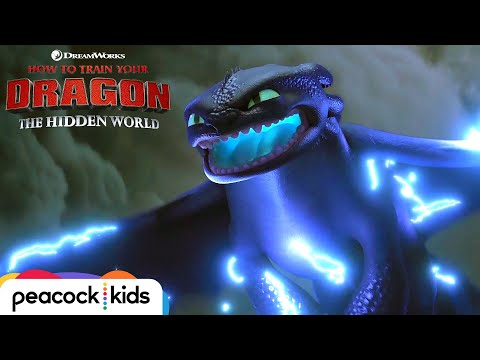 HOW TO TRAIN YOUR DRAGON: THE HIDDEN WORLD | Toothless Powers Up