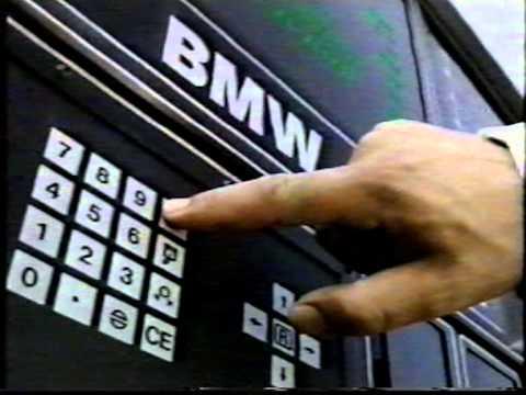 BMW E31 8 Series 850i 5.0 V12 Coupe UK Dealership Training Video (1989)