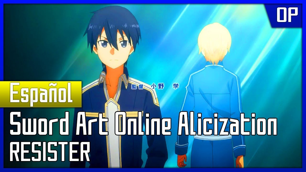 Sword Art Online Opening 1 Full Español Latino Youtube