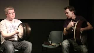 Martin O'Neill and Cormac Byrne Craiceann  Insheer 2012  HD