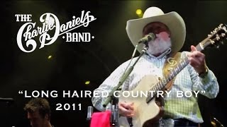 The Charlie Daniels Band - Long Haired Country Boy (Live)