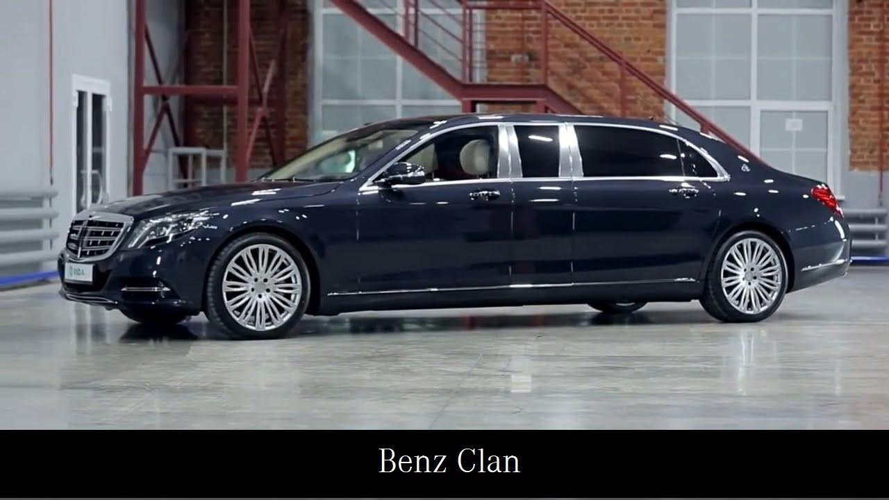 Mercedes Maybach S600 Pullman Klassen Youtube