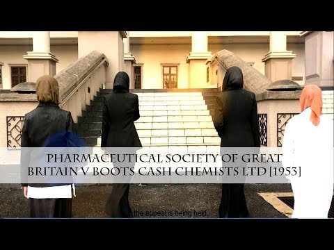 pharmaceutical society v boots