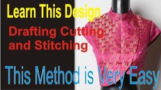Prasanta Blouse Design EEE Drafting Stitching/ part 3 of 4
