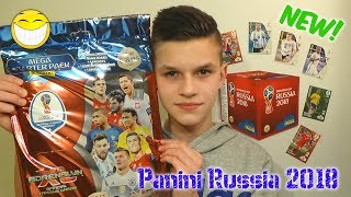 NOWOŚĆ!!! Panini Adrenalyn XL FIFA World Cup RUSSIA 2018 MEGA STARTERPACK - Unboxing!!!