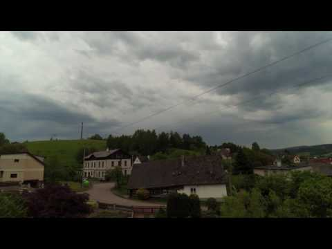 Time Lapse- Storm clouds forming 2K