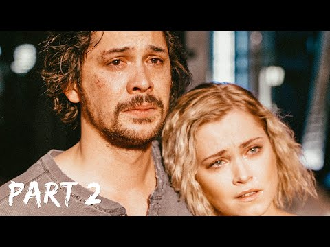 The100 FINALE: The ending scene (part2) Bellamy, Clarke, Monty & Harper 05x13