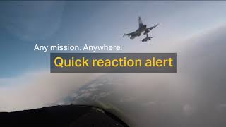 homepage tile video photo for Any mission. Anywhere: Quick reaction alert.