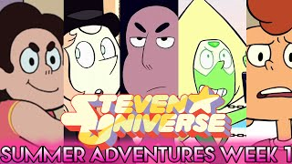 STEVEN UNIVERSE SUMMER ADVENTURES WEEK 1 PREVIEW - Stevonnie, Peridot & More! [Steven Universe News]