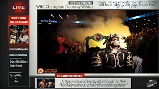 ☎️Deontay Wilder Live🚨RAW On Joshua & Next 3 Fights🔥