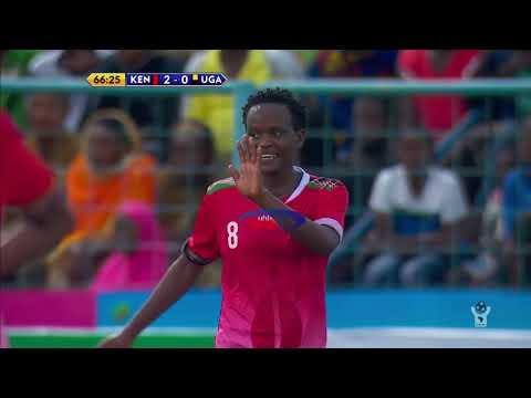 KENYA 3-0 UGANDA: HIGHLIGHTS (CECAFA WOMEN'S CHALLENGE CUP - 21/11/2019)