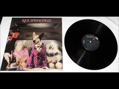 "RICK SPRINGFIELD - ""Success Hasn't Spoiled Me Yet""  Complete Album"