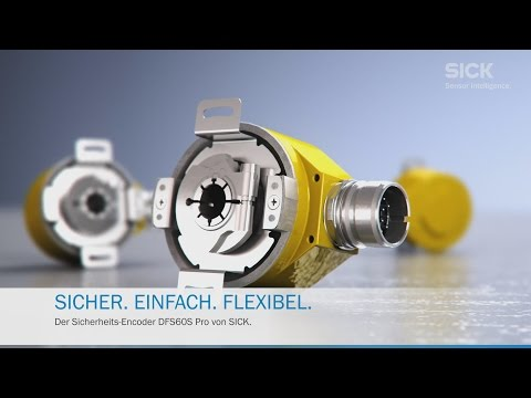 DFS60S Pro: The new safety encoder from SICK | SICK AG