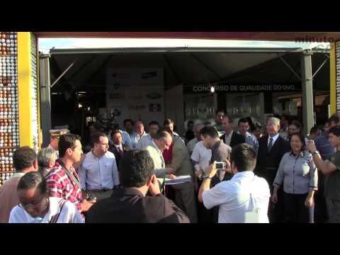 Em Bastos, Alckmin inaugura nova ala do laboratório de Bromatologia e participa da 54ª Festa do Ovo