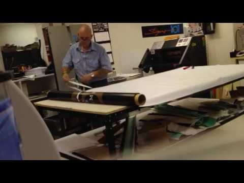 vinyl banner hemming machine