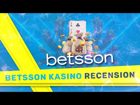 Betsson casino Online 【FULL recension & Slots 2021】 video preview