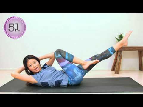 お腹引き締め1分間トレーニング workout exercises at home to lose weight
