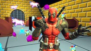 Şakacı Komik Deadpool Kanalizasyonda Çocuk Oyun Alanı Buluyor 5. Bölüm