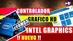 CONTROLADOR de los GRAFICO HD Intel® para Windows * 7/8/8.1- 64- 32 bist 2018