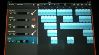 How to make a cool song easily on garage band for Ipad