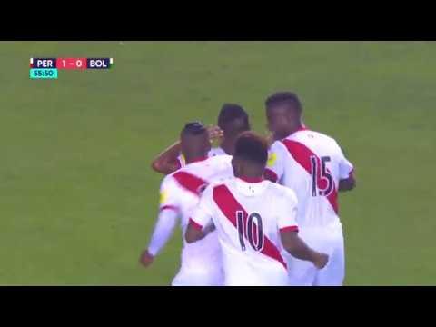 Perú vs. Bolivia: Revive el gol de Edison Flores para el 1 - 0 parcial