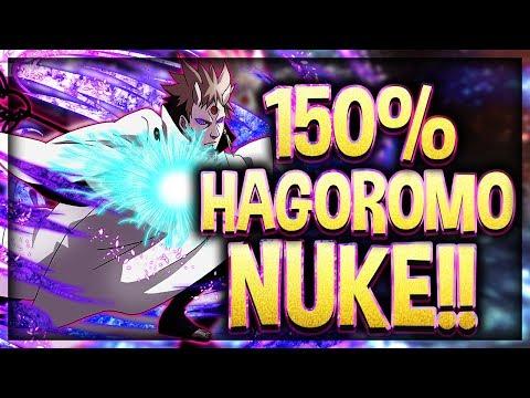 SAGE OF SIX PATHS HAGOROMO NUKES?! 150% BOOST SHOWCASE!! | Naruto Shippuden Ultimate Ninja Blazing