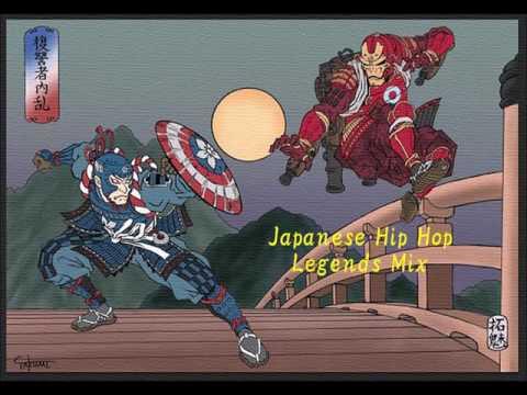 日本語ラップ Legends Mix    [Japanese Hip Hop Legends Mix] (djay 2 Improvisation Mix)