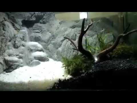 Aquascape waterfall | aquascape air terjun | Aquascape ...