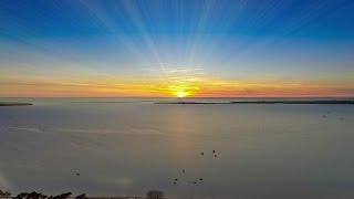 Sunrise Am Salzhaff Pepelow
