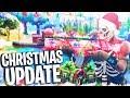 NEW FORTNITE CHRISTMAS UPDATE + NEW SNOWBALL WEAPON! (Fortnite Battle Royale PS4 Gameplay Season 2)
