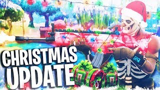 NEW FORTNITE CHRISTMAS UPDATE + NEW SNOWBALL WEAPON! (Fortnite Battle Royale PS4 Gameplay Season 2) thumbnail