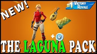 "NEW ""THE LAGUNA PACK"" SKIN in FORTNITE! - NEW ""STAR WAND"" PICKAXE! // Playing With SUBSCRIBERS"