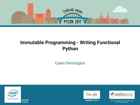 Image from Immutable Programming - Writing Functional Python