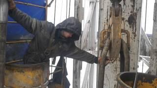 Работа буровой вахты збс(, 2014-02-10T09:11:02.000Z)
