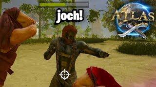 AANGEVALLEN DOOR JOCH IN ARK 2.0 - Atlas #1
