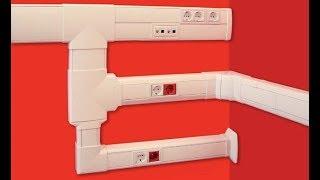 видео Короб для проводов: обзор пластиковых и металлических