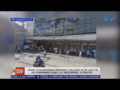 24 Oras News Alert - 11:00 AM | July 11, 2020