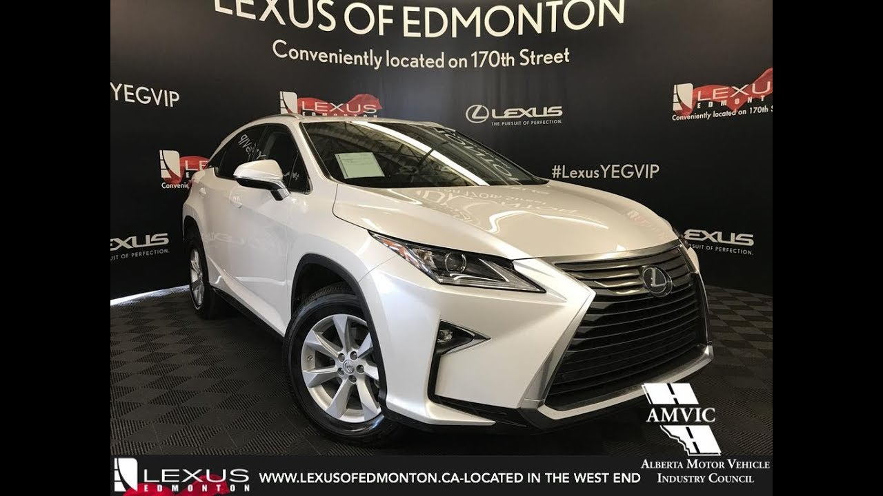 Lexus Certified Pre Owned White 2017 Rx 350 Standard Package Review
