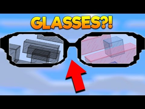 Minecraft PARKOUR WITH GLASSES! With PrestonPlayz