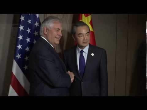 Secretary Tillerson Meets With Chinese Foreign Minister Wang Yi