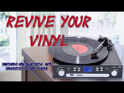 DIGITNOW! M36 Bluetooth  MP3 Converter Record Player