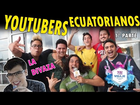 YOUTUBERS DE ECUADOR ft. LA DIVAZA, THE PARTY BAND, LONROT | VISAJE 1° PARTE
