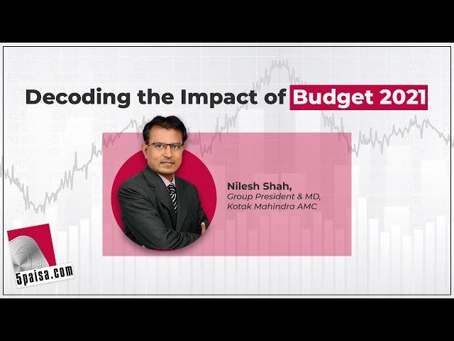 Decoding the Impact of Budget 2021: Nilesh Shah   Stock Market Webinar   RBI   5paisa Live Webinar
